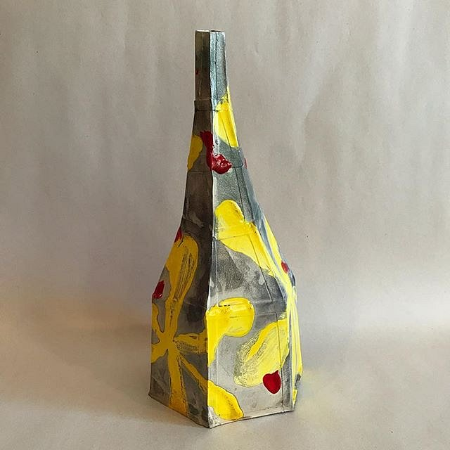 #ceramics #jamon #ham #flower #bottle #art #sculpture @acrstudio