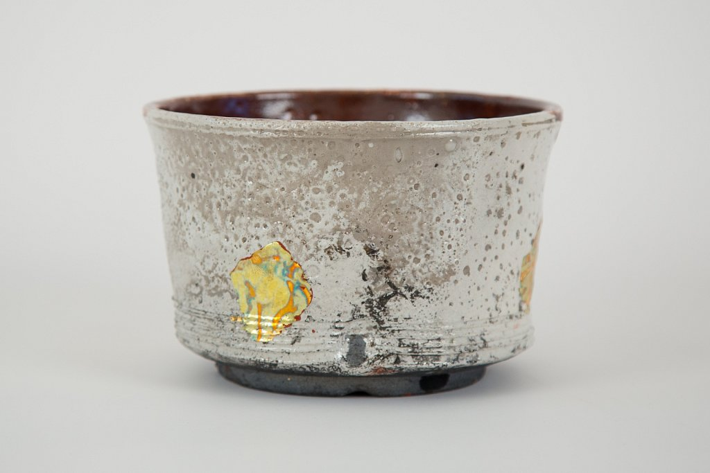 Vessel (red, white, gold)