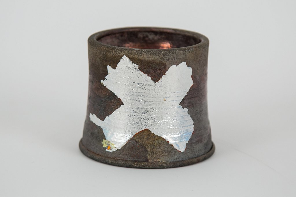 Cup with Silver Leaf