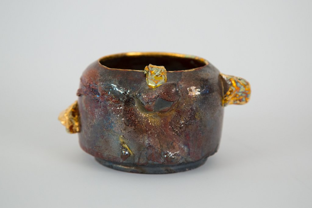 Bowl with Gold Nuggets